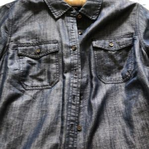 Talbots tunic length blouse